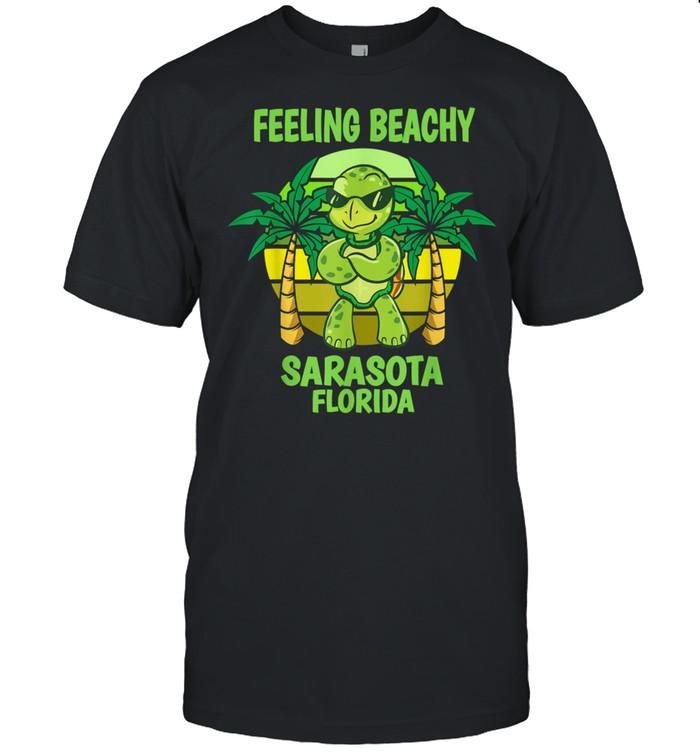 Sarasota Florida Cool Turtle Saying Vacation shirt Classic Men's T-shirt