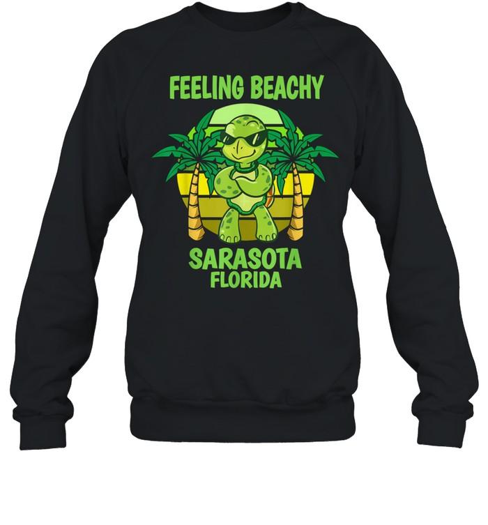 Sarasota Florida Cool Turtle Saying Vacation shirt Unisex Sweatshirt