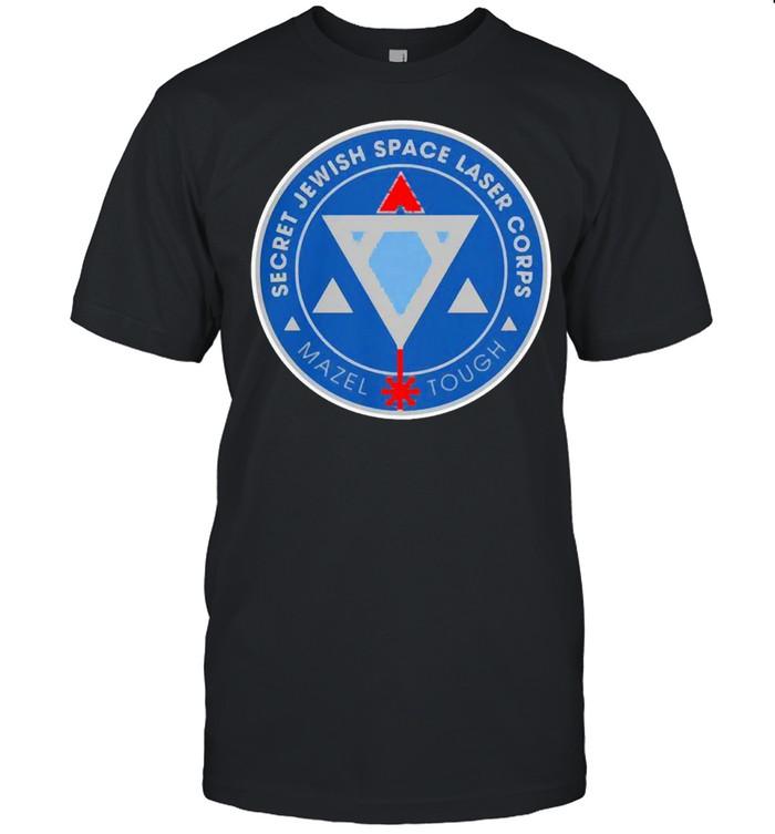 Secret jewish space laser corps mazel tough shirt Classic Men's T-shirt