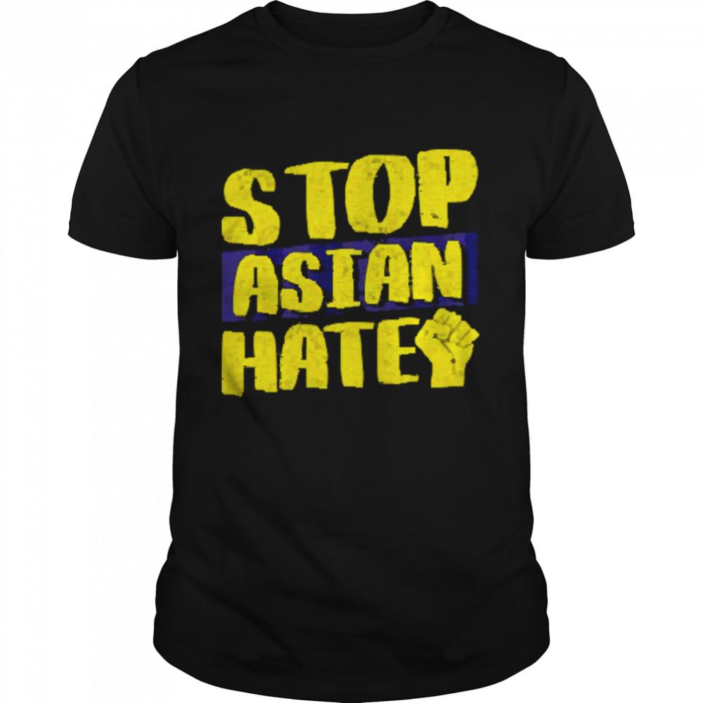 Stop Asian Hate Aapi American Matters Anti Asian Racism  Classic Men's T-shirt