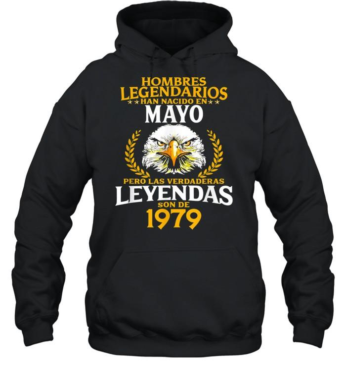 42 Años Hombres Legendarios Nacidos en Mayo de 42 shirt Unisex Hoodie