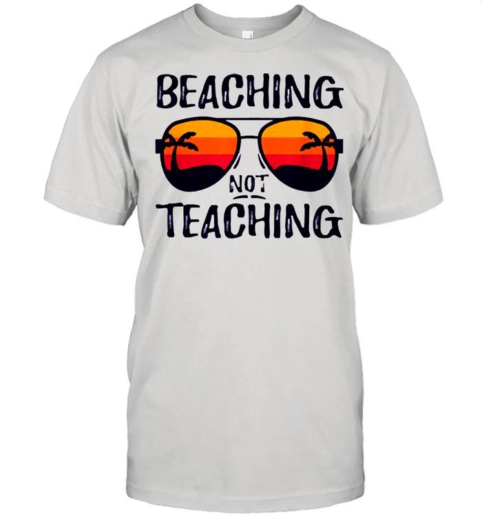 Beaching not teaching shirt Classic Men's T-shirt