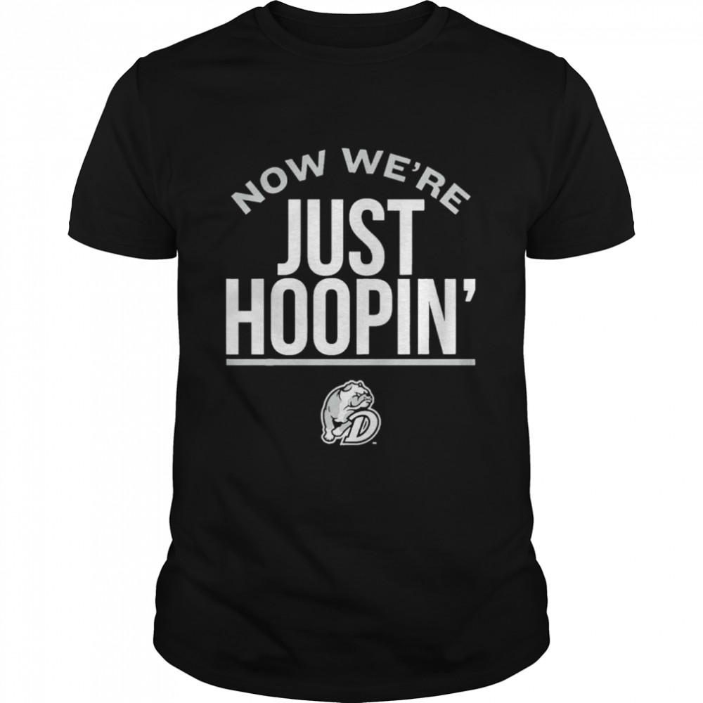 Drake Basketball Licensed Now Were Just Hoopin shirt Classic Men's T-shirt