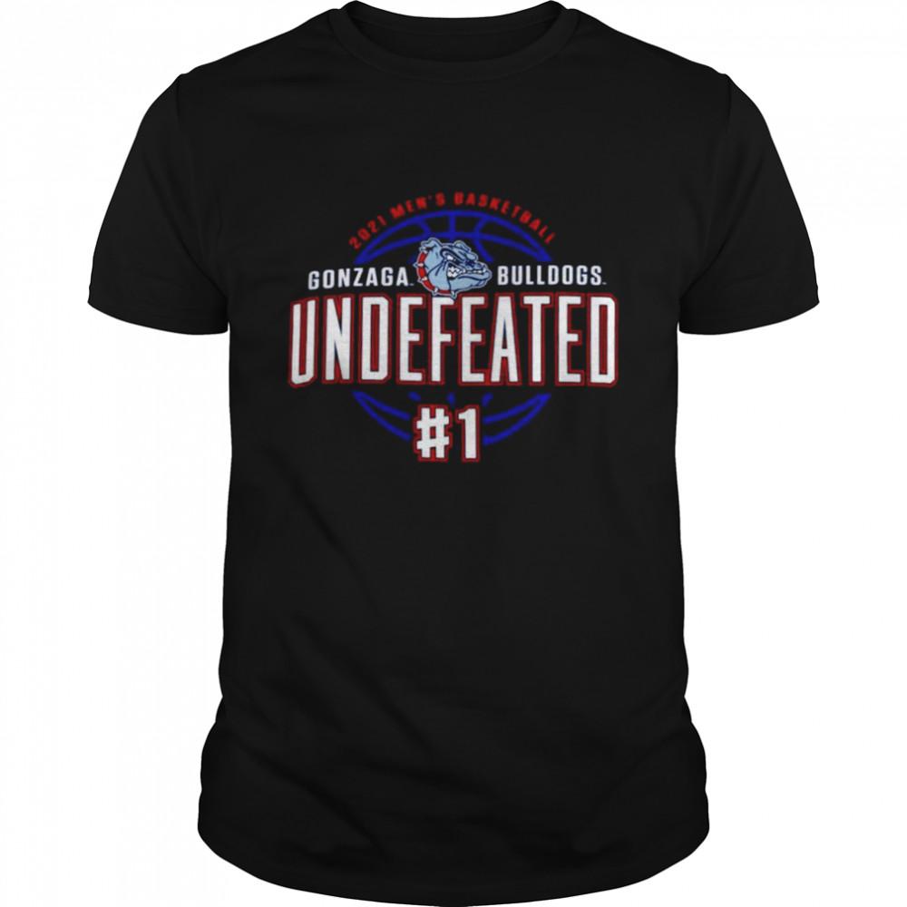 Gonzaga Bulldogs Champion 2021 Undefeated Regular Season shirt Classic Men's T-shirt