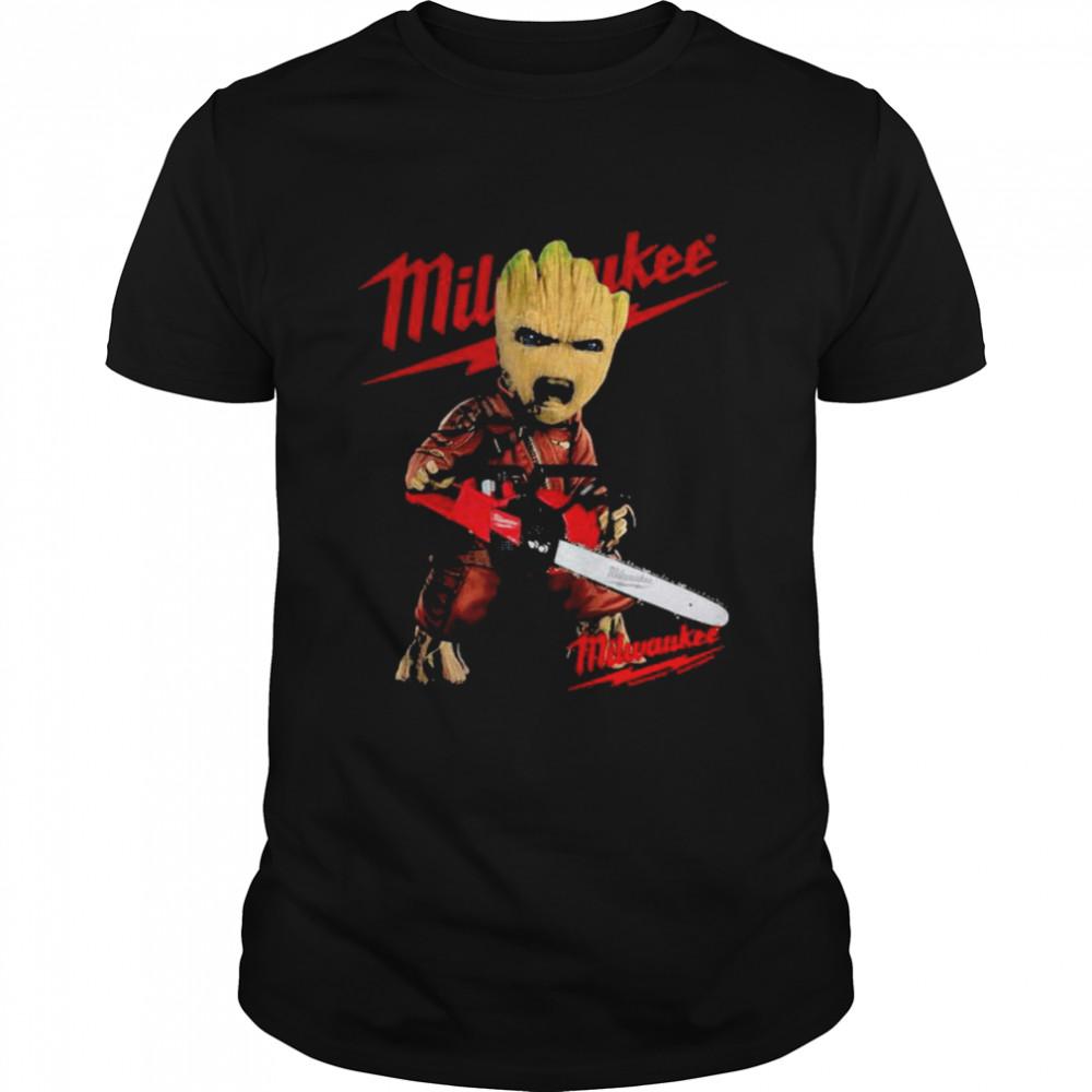 Groot With Logo Milwaukee  Classic Men's T-shirt