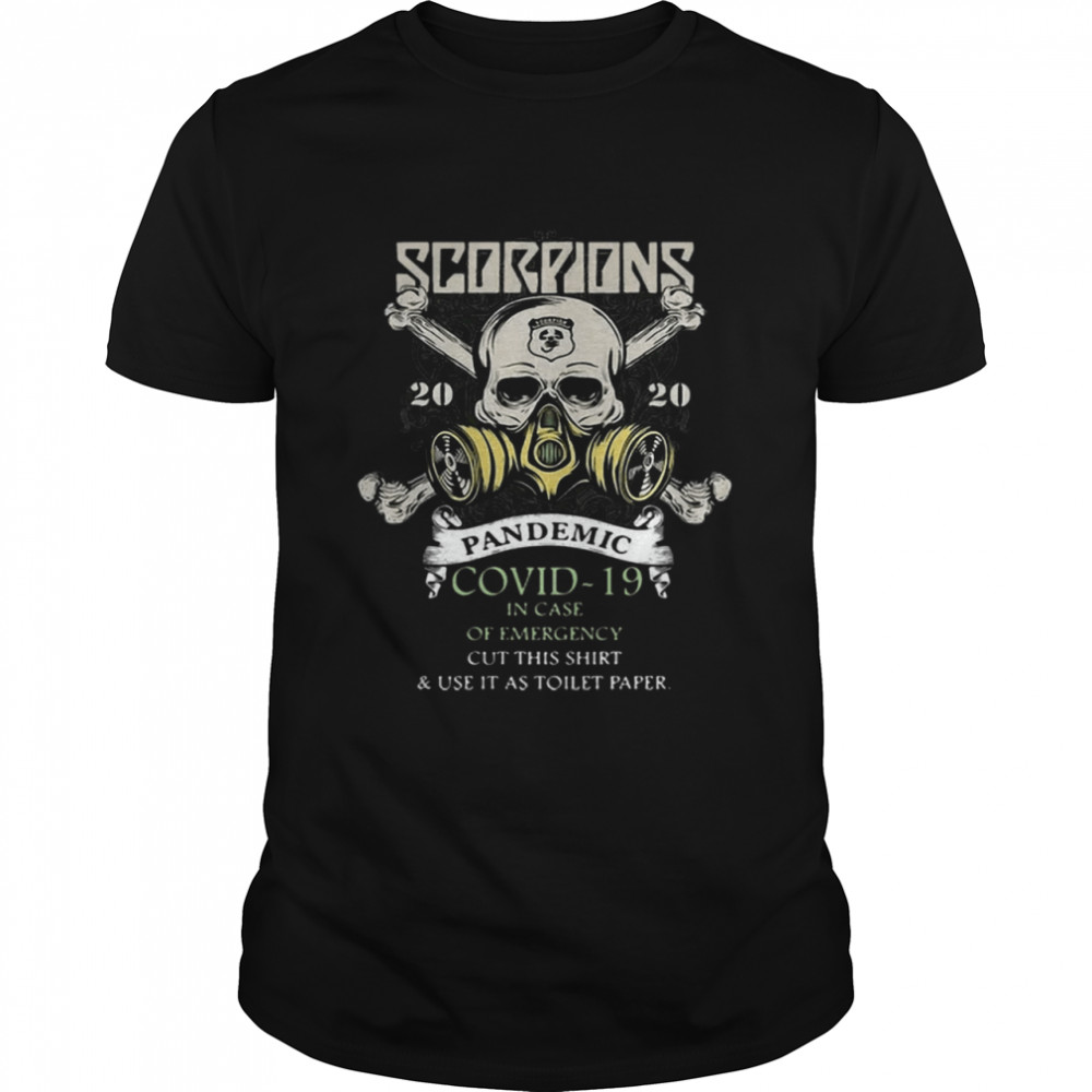 Hot Scorpions 2020 Pandemic Covid 19 Emergency hirt Classic Men's T-shirt