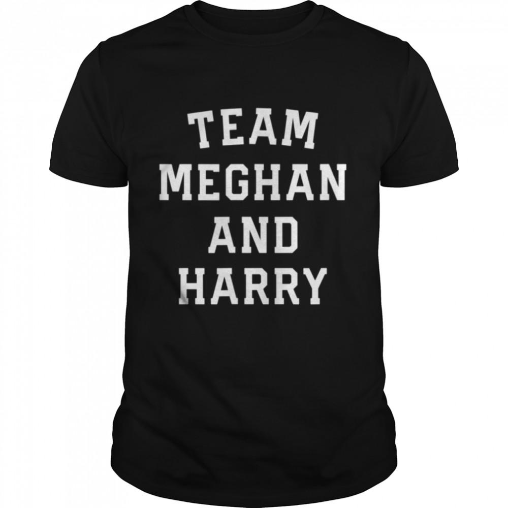 Team Meghan And Harry Interview Megan Markle shirt Classic Men's T-shirt