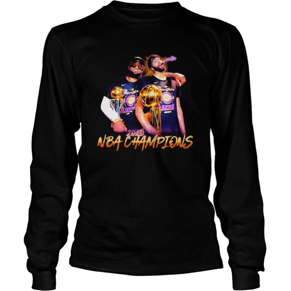 2020 NBA Champions Los Angeles Lakers Long Sleeved T-shirt