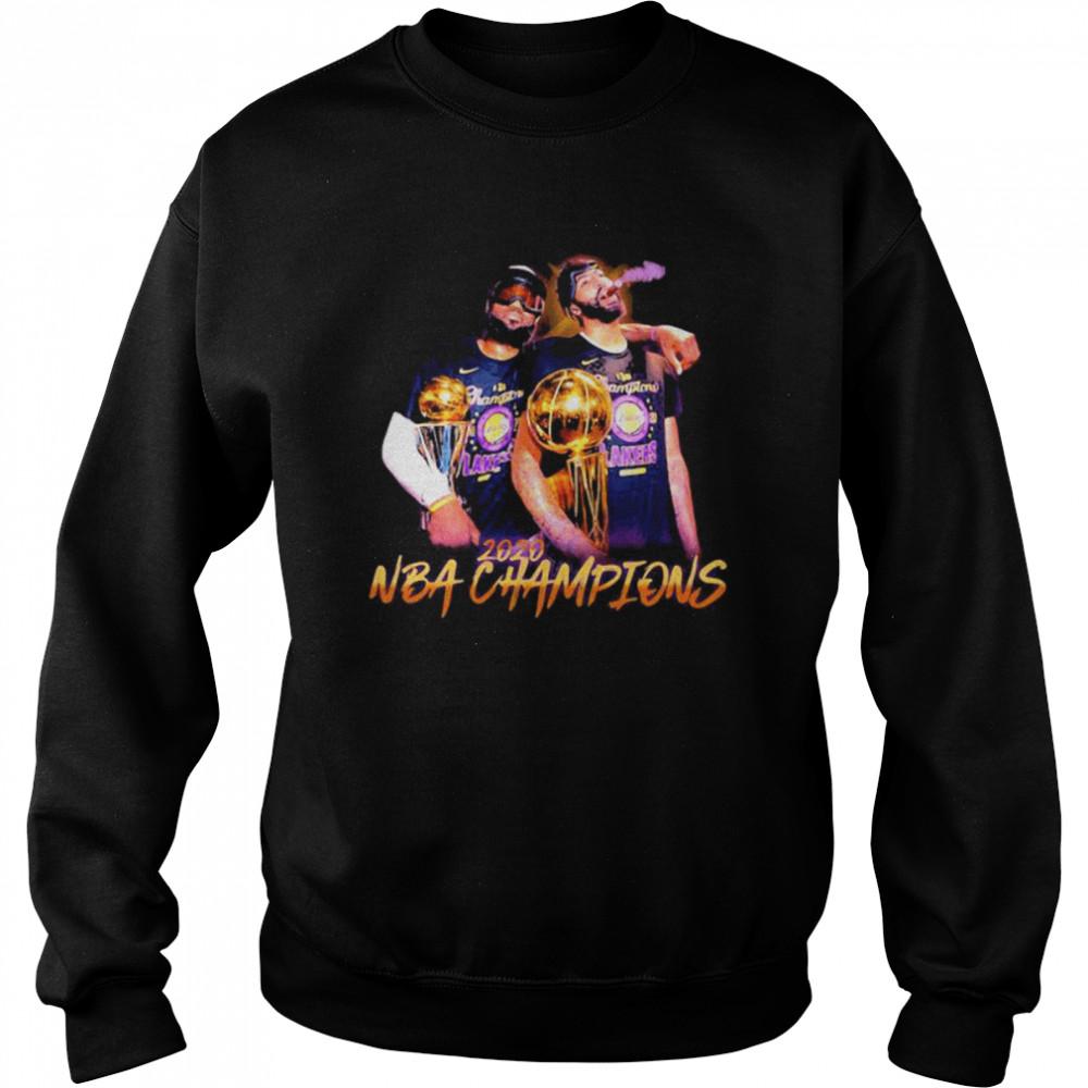 2020 NBA Champions Los Angeles Lakers Unisex Sweatshirt