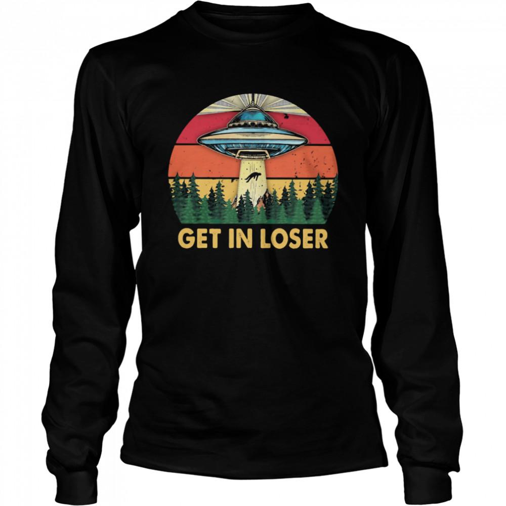 Get In Loser UFO Vintage Long Sleeved T-shirt