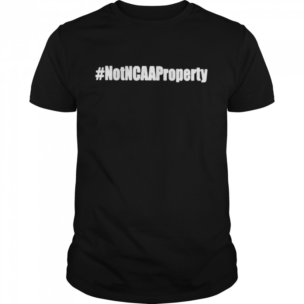 Not NCAA property shirt Classic Men's T-shirt