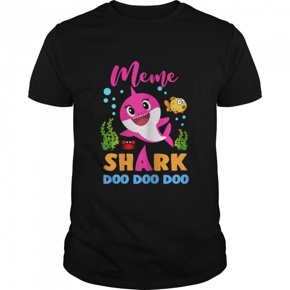 Shark Cute Baby Shark Family Matching Outfits  Classic Men's T-shirt