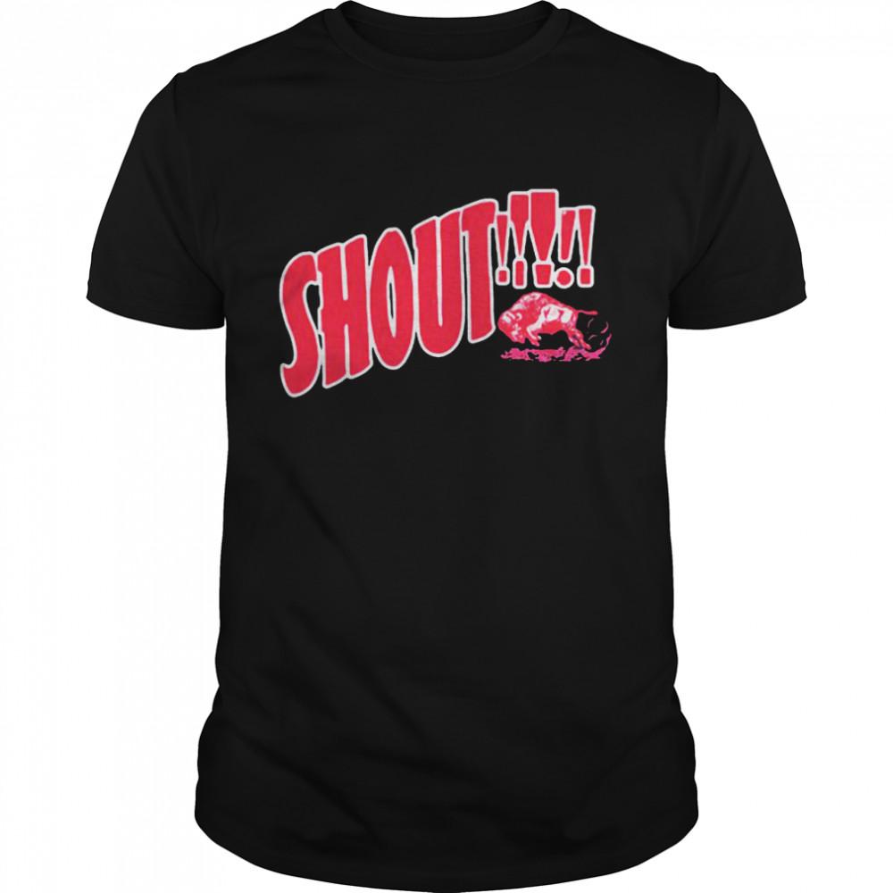 Shout Buffalo  Classic Men's T-shirt