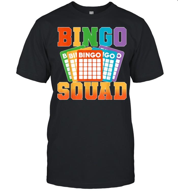Bingo Squad Lucky Bingo Player shirt Classic Men's T-shirt