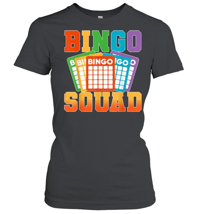 Bingo Squad Lucky Bingo Player shirt Classic Women's T-shirt