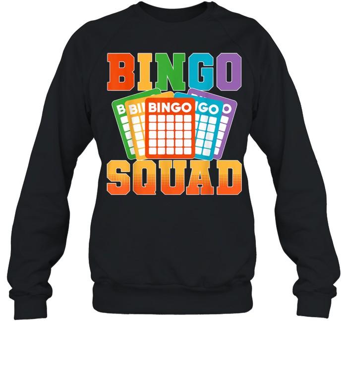 Bingo Squad Lucky Bingo Player shirt Unisex Sweatshirt