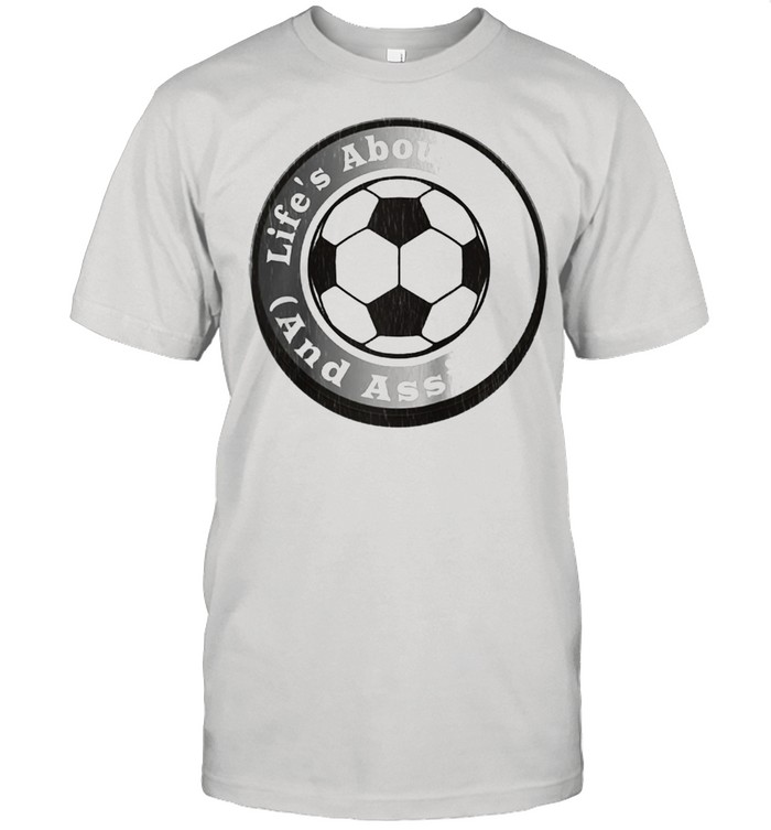 Hilarious Soccer Player Quote Goals & Assists Silver  Classic Men's T-shirt