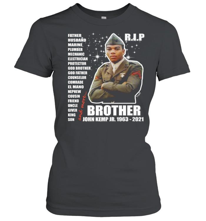 John Kemp Junior Brother Front & Back  Classic Women's T-shirt