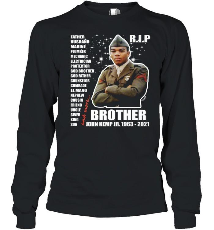 John Kemp Junior Brother Front & Back  Long Sleeved T-shirt