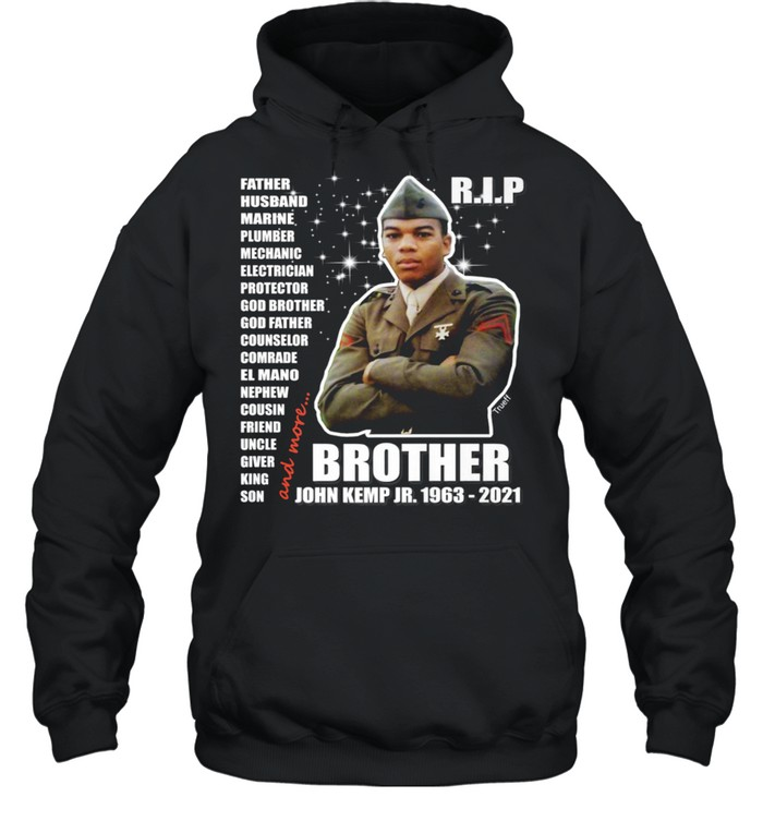 John Kemp Junior Brother Front & Back  Unisex Hoodie
