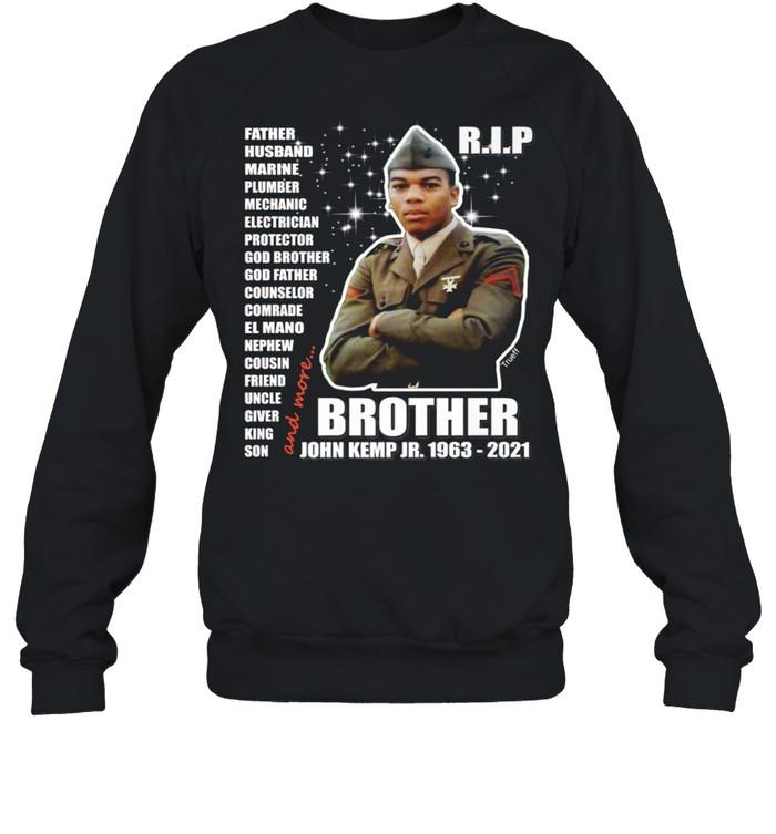 John Kemp Junior Brother Front & Back  Unisex Sweatshirt