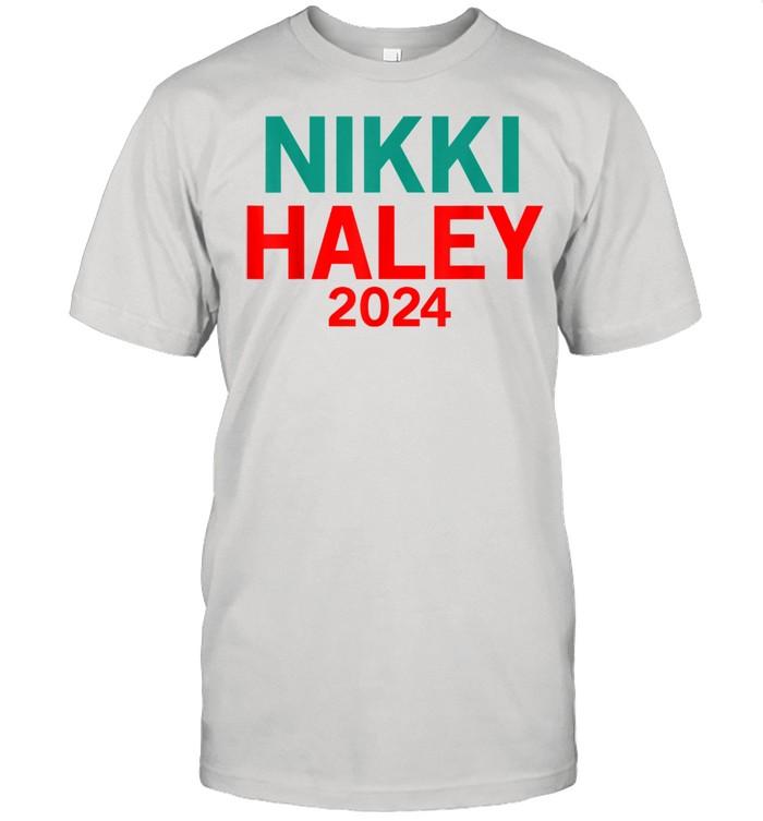 Nikki Haley 2024 For President  Classic Men's T-shirt