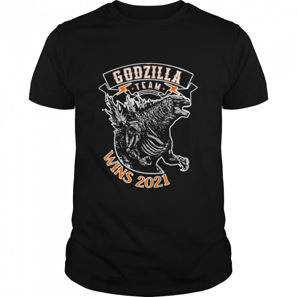Team Godzilla Wins 2021 shirt Classic Men's T-shirt