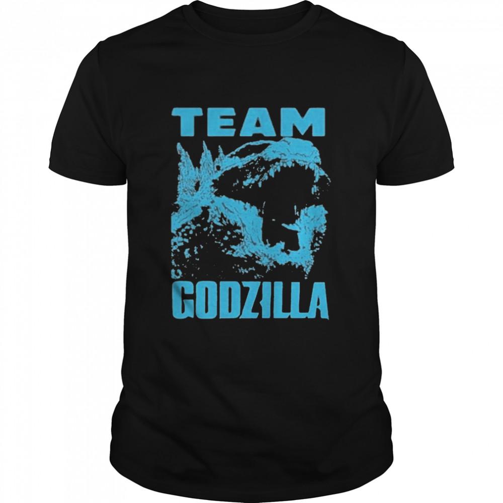 The Godzilla Wins 2021 Blue shirt Classic Men's T-shirt