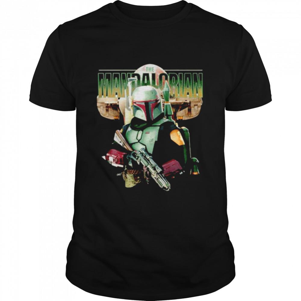 Star Wars The Mandalorian  Classic Men's T-shirt