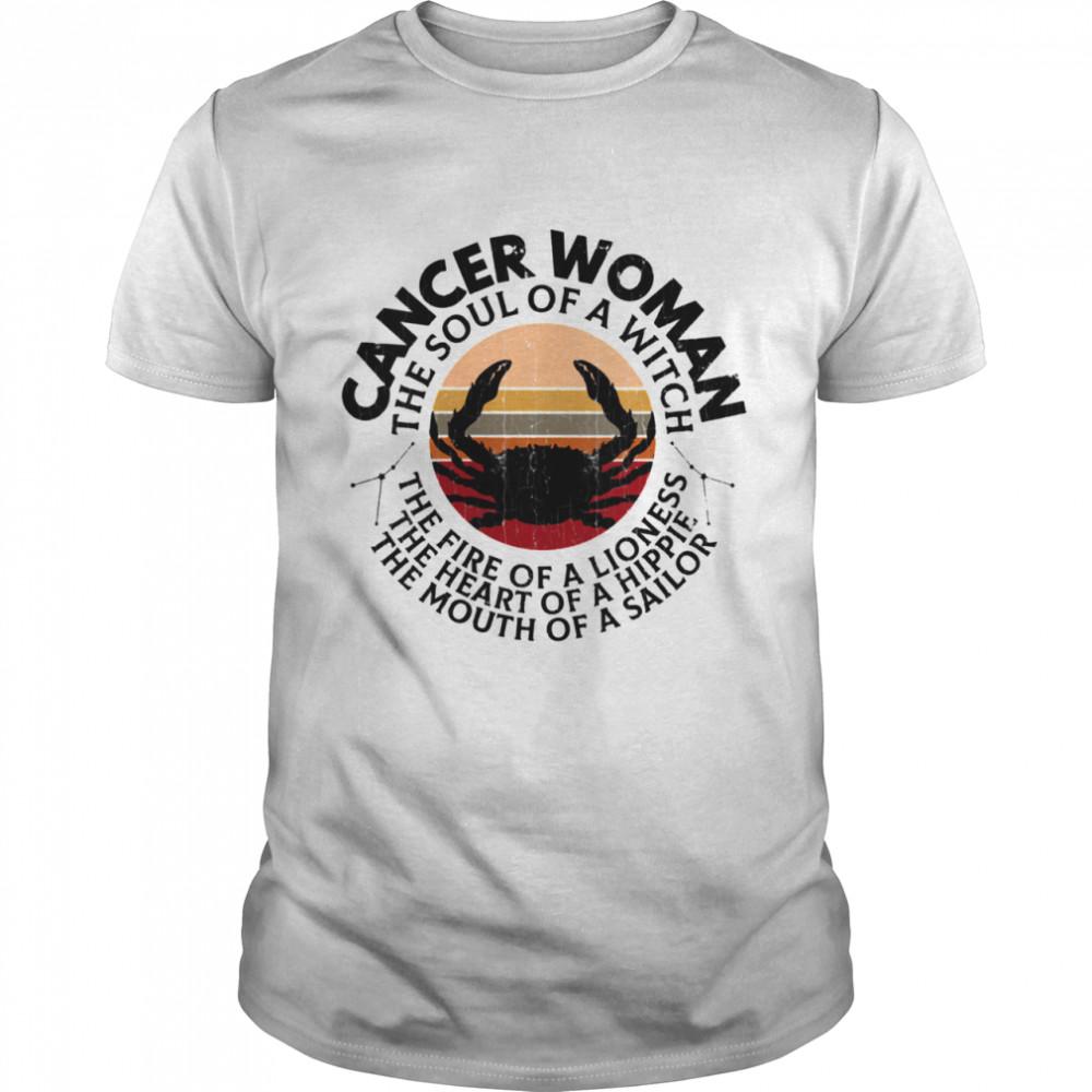 Cancer Zodiac Sign Girls  Classic Men's T-shirt