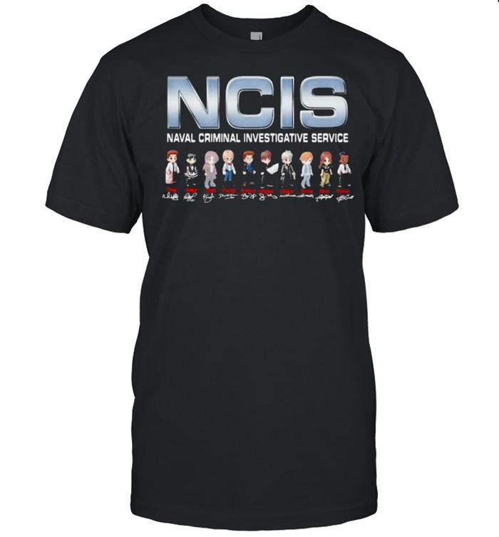 NCIS Naval Crimal Investigative Service Signature  Classic Men's T-shirt