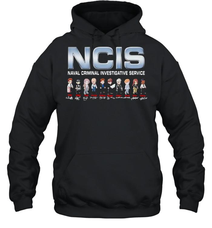 NCIS Naval Crimal Investigative Service Signature  Unisex Hoodie