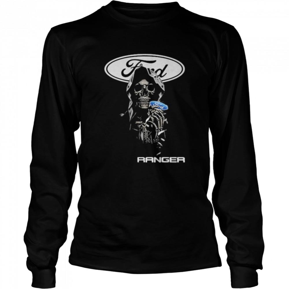 Skull Hug Ranger Logo  Long Sleeved T-shirt