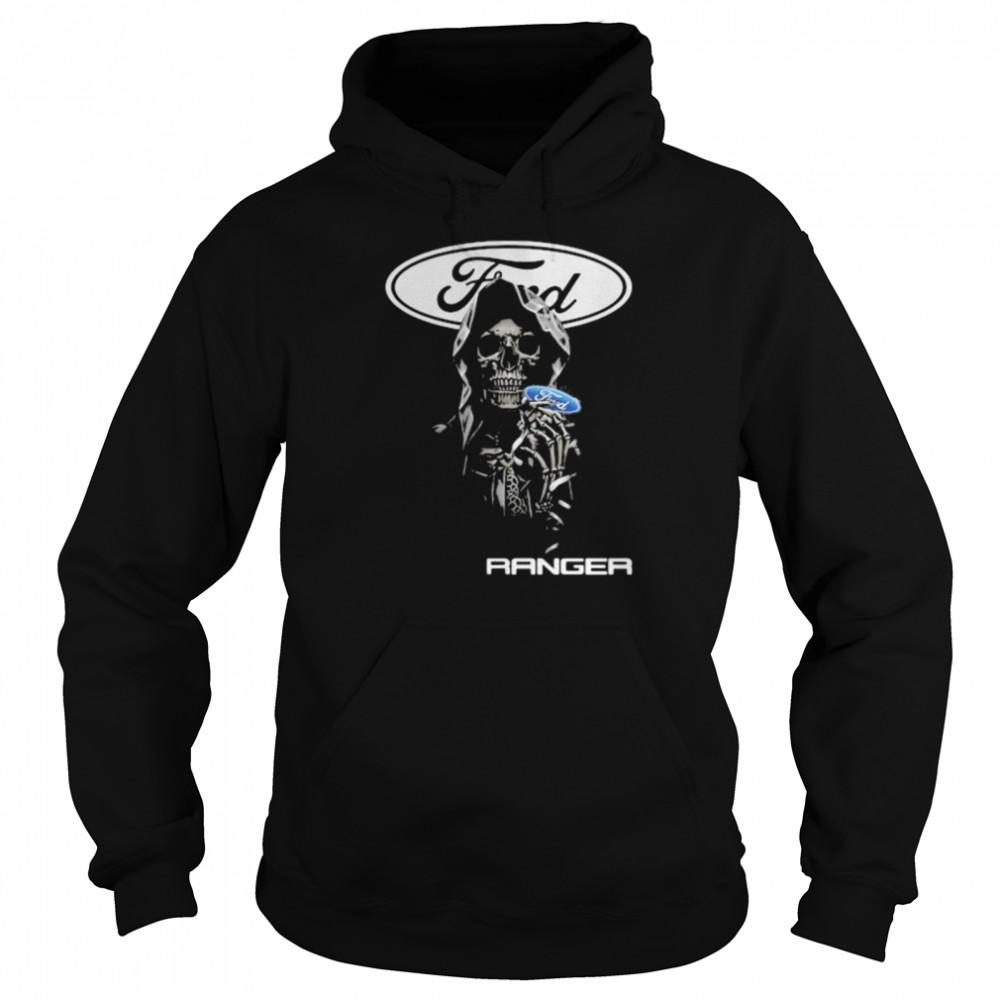 Skull Hug Ranger Logo  Unisex Hoodie