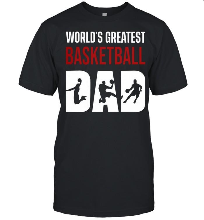 Worlds greatest basketball dad shirt Classic Men's T-shirt