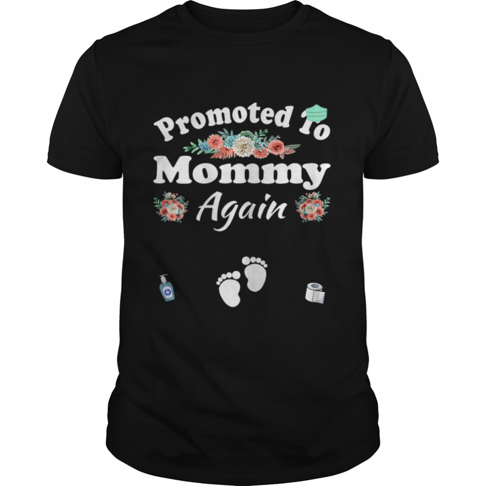 Mom Expecting to Be Plus Size Mommy Again  Classic Men's T-shirt
