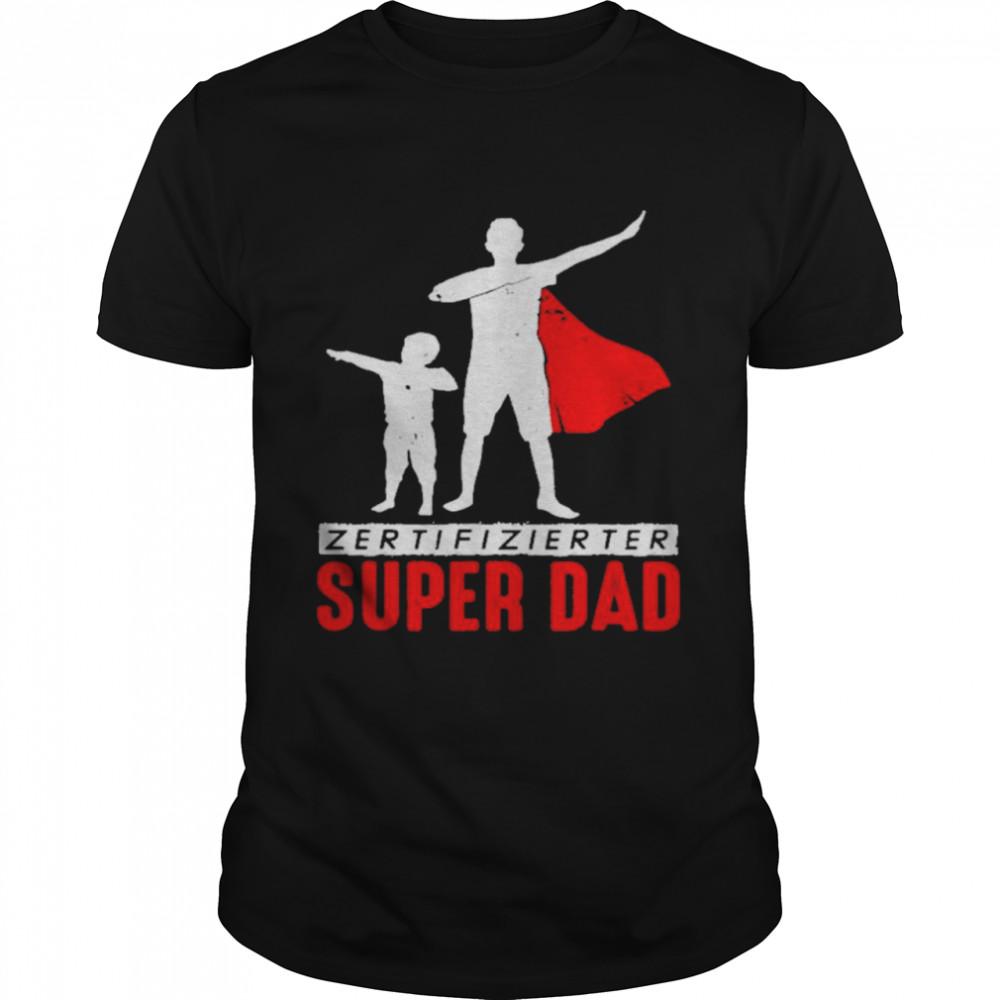 Superdad Father Bonus Papa Daddy Stepdad Dad  Classic Men's T-shirt