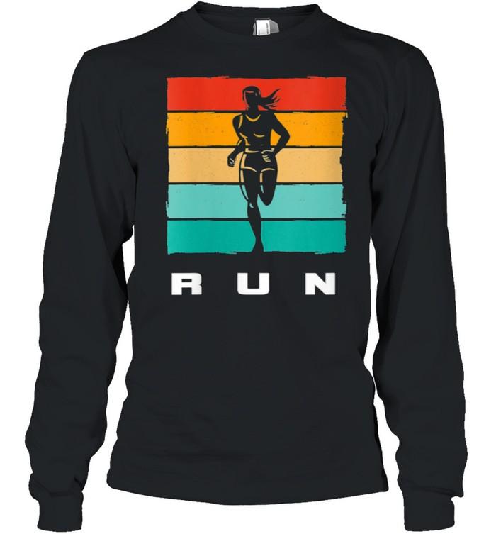 Running Apparel RUN Running  Long Sleeved T-shirt