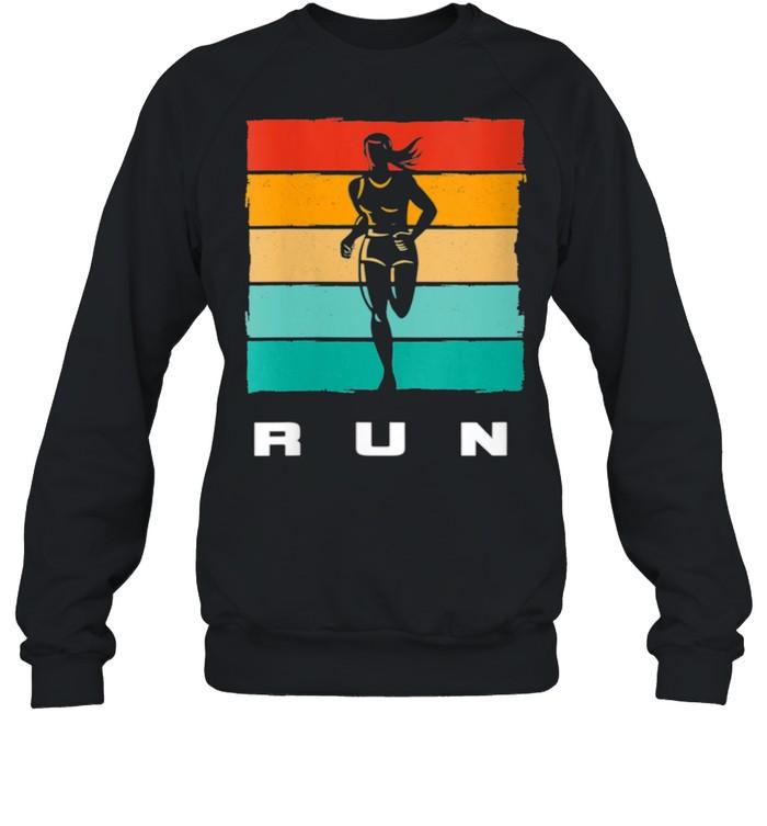 Running Apparel RUN Running  Unisex Sweatshirt