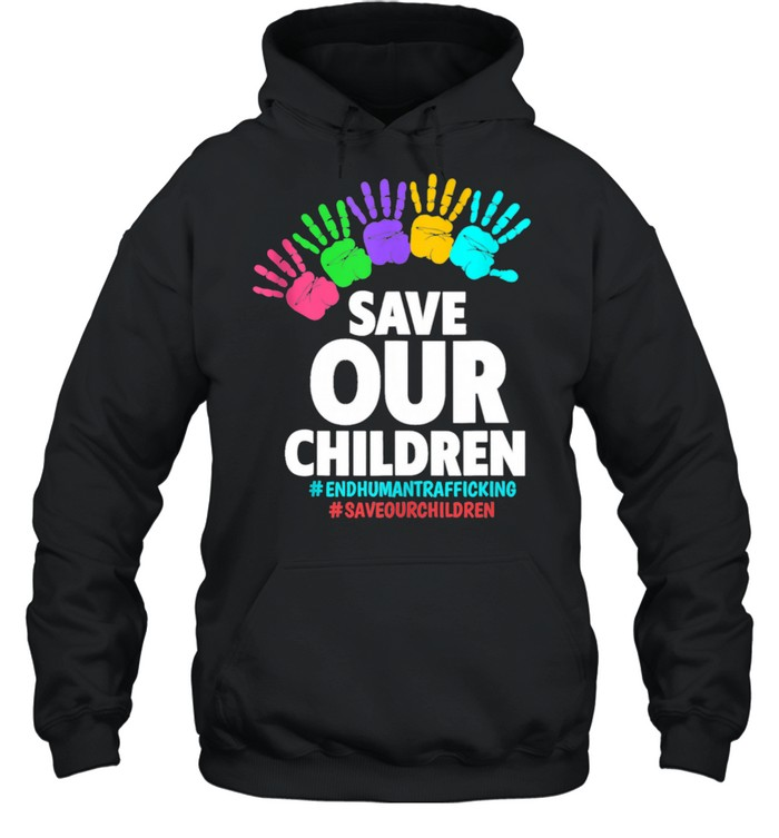 Save Our Children End Human  Unisex Hoodie