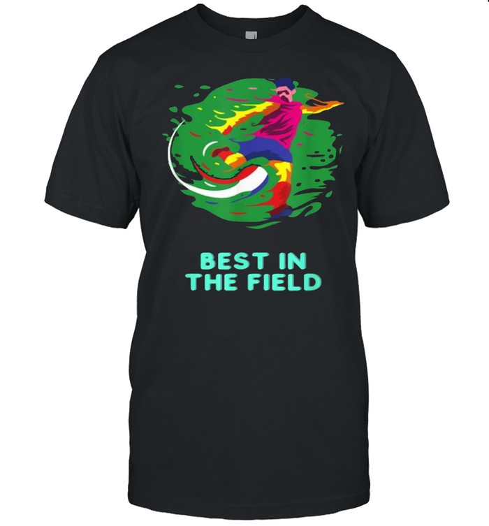 Best in the Field Football Watercolor  Classic Men's T-shirt