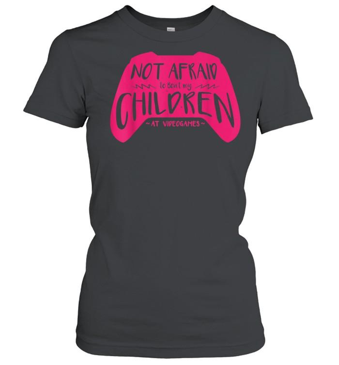 Can Beat My Children At Video Games Gamer Mom  Classic Women's T-shirt