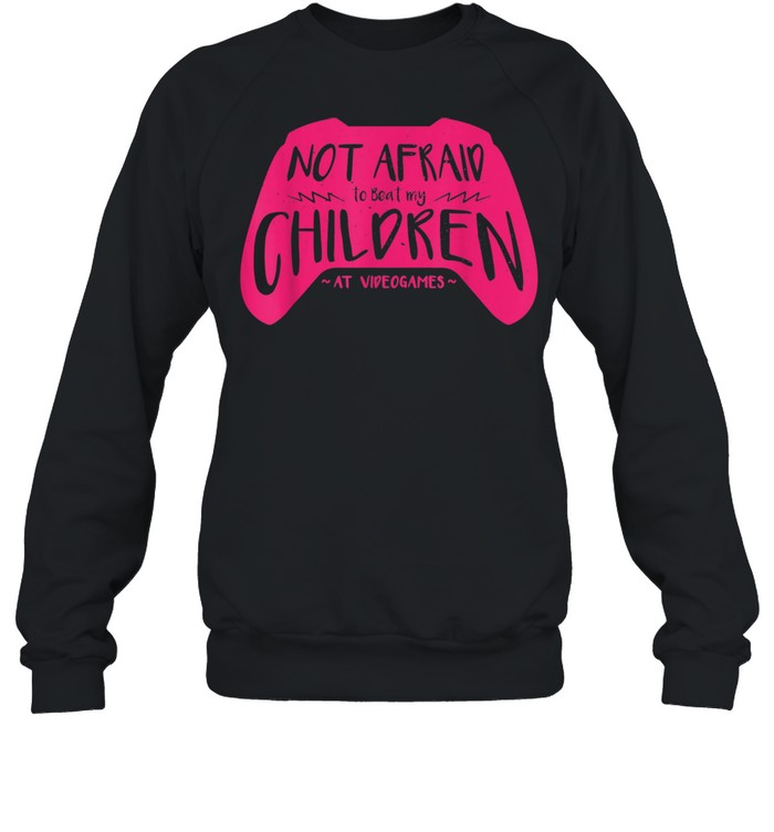Can Beat My Children At Video Games Gamer Mom  Unisex Sweatshirt
