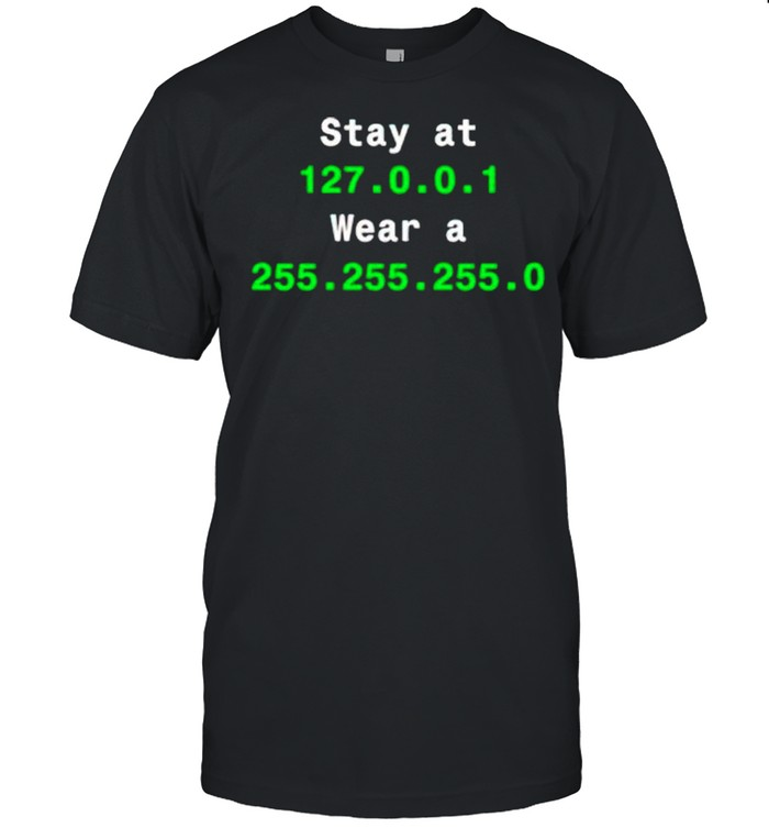 Stay at 127.0.1 wear a 255.255.255.0 shirt Classic Men's T-shirt
