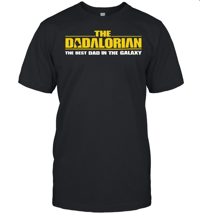 The Dadalorian Best Dad In The Galaxy shirt Classic Men's T-shirt