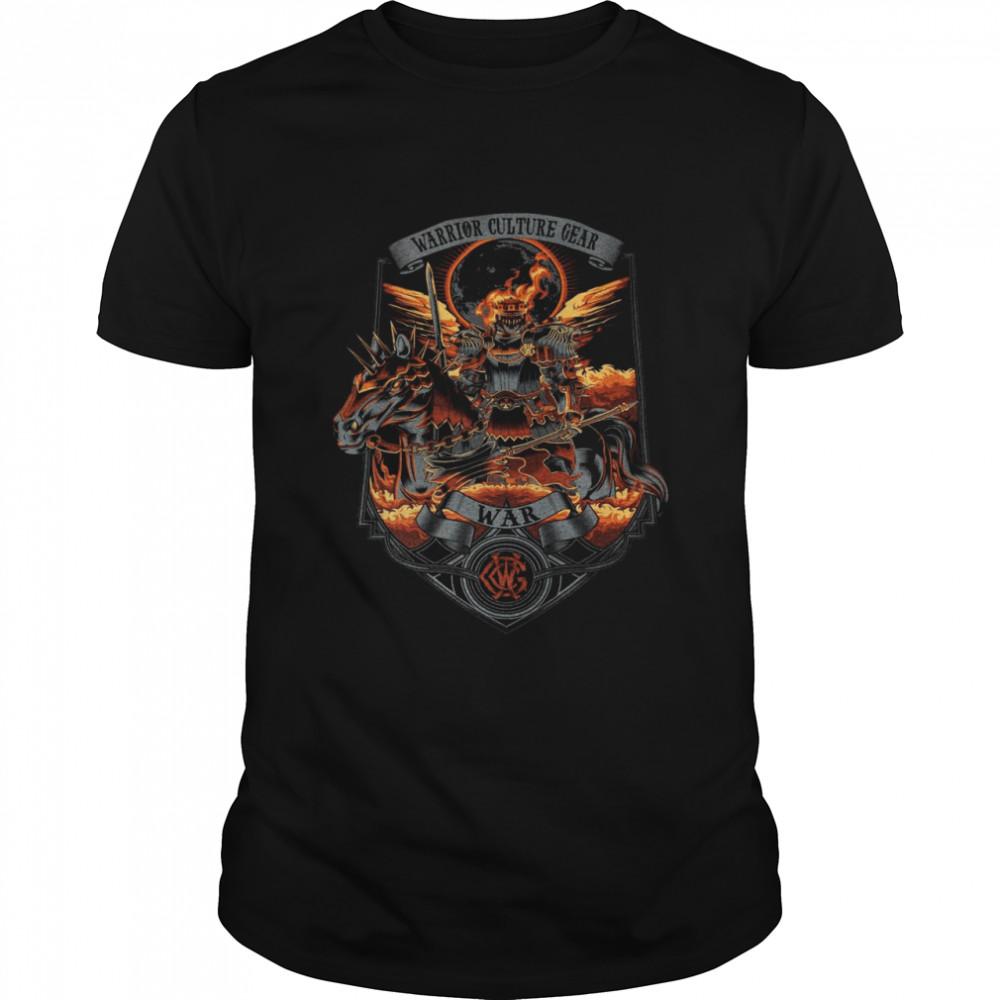 Warrior Culture Gear War T-shirt Classic Men's T-shirt