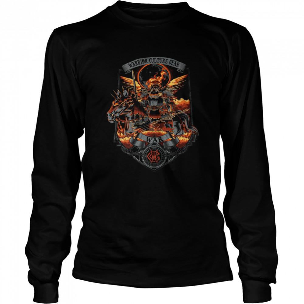 Warrior Culture Gear War T-shirt Long Sleeved T-shirt