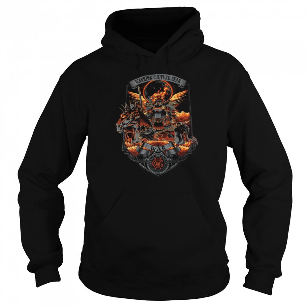 Warrior Culture Gear War T-shirt Unisex Hoodie