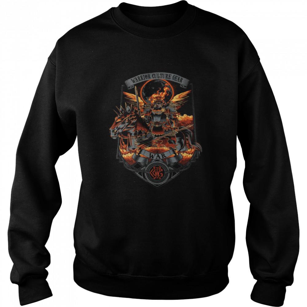 Warrior Culture Gear War T-shirt Unisex Sweatshirt