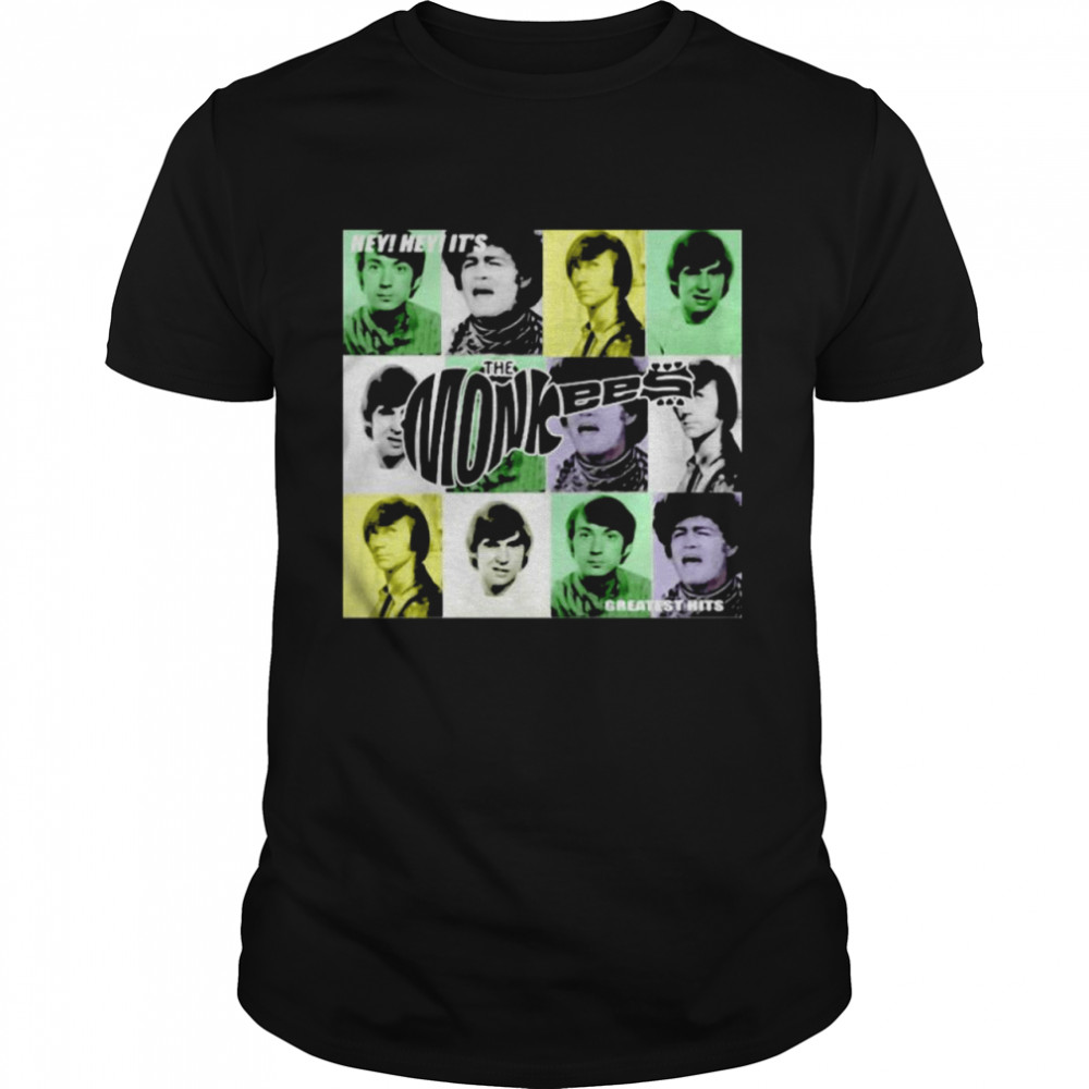 Hey Greatest Hits The Monkees  Classic Men's T-shirt